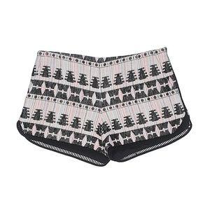 Thakoon Addition Abstract Printed Shorts